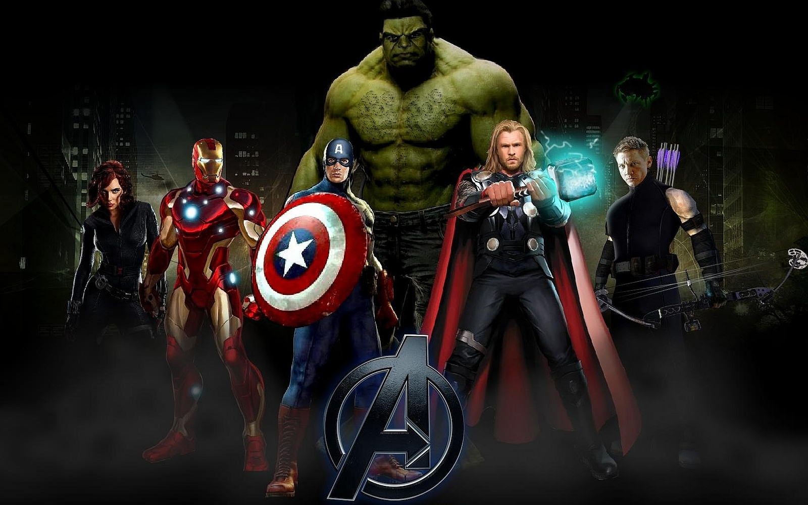 The Avengers Computer Wallpapers Desktop Backgrounds 1600x1000