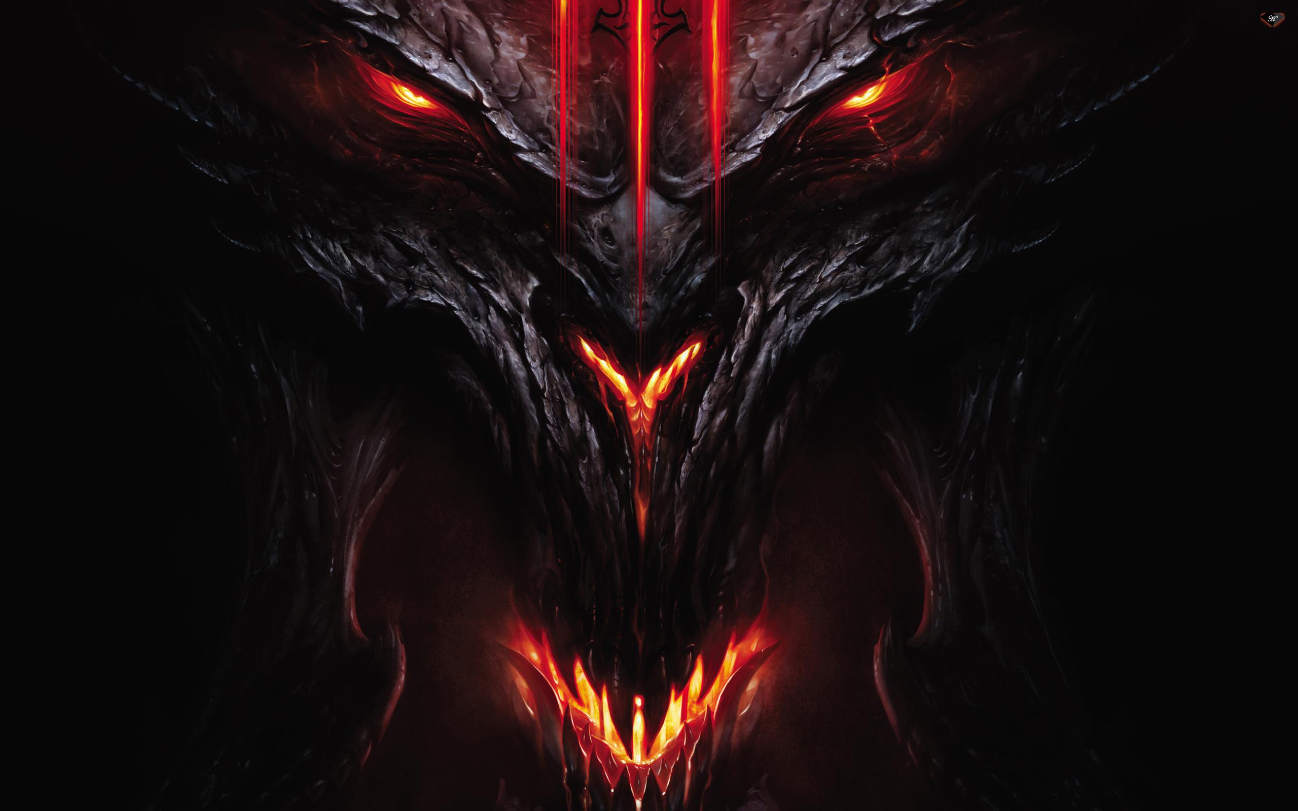 Wallpaper Devil demon Diablo 3 Diablo monster desktop 2560x1600