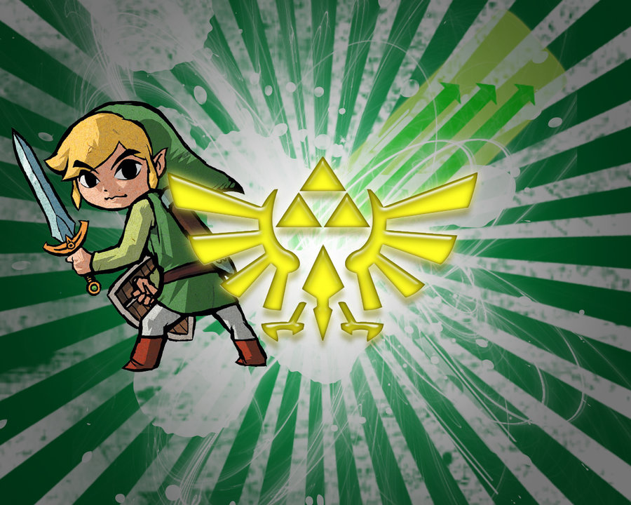 Toon Link Vector Background by ceejsradx3 900x720