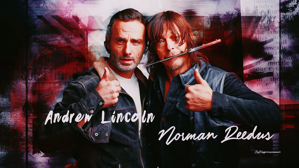 Norman Reedus Images Andrew Lincoln Danai Gurira HD Wallpaper And Background Photos Source Wallpapers WallpaperSafari