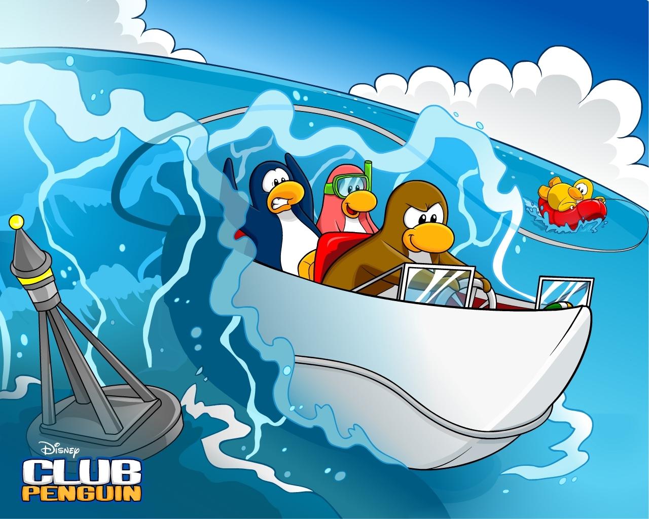 New Hydro Hopper CP Wallpaper Club Penguin Super Guide 1280x1024