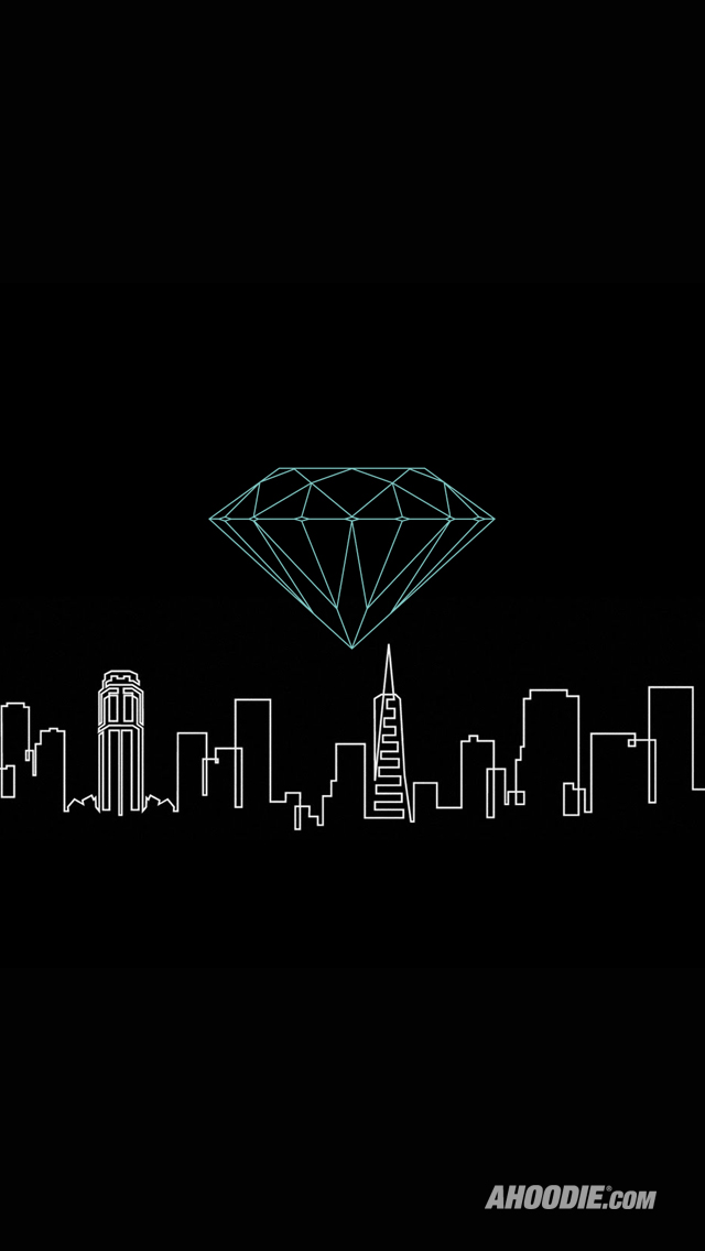 Diamond Supply Co Wallpaper Hd Iphone 5 Huf x diamond supply co 640x1136