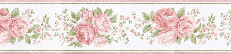Vintage Market Flowers Roses Wallpaper Border VIN7329B eBay 770x183