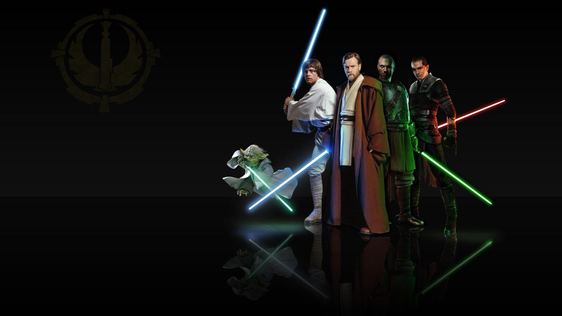 Star Wars Jedi Obi Wan Kenobi Light Side 1080x1920 Wallpaper HDTV 1920x1080