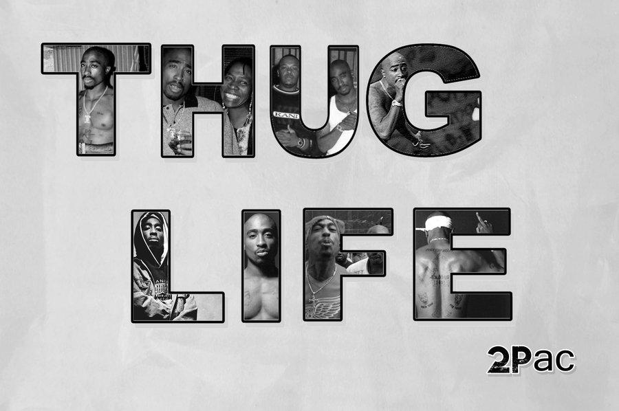 Thug Life 2 Pac by danielboveportillo 900x598