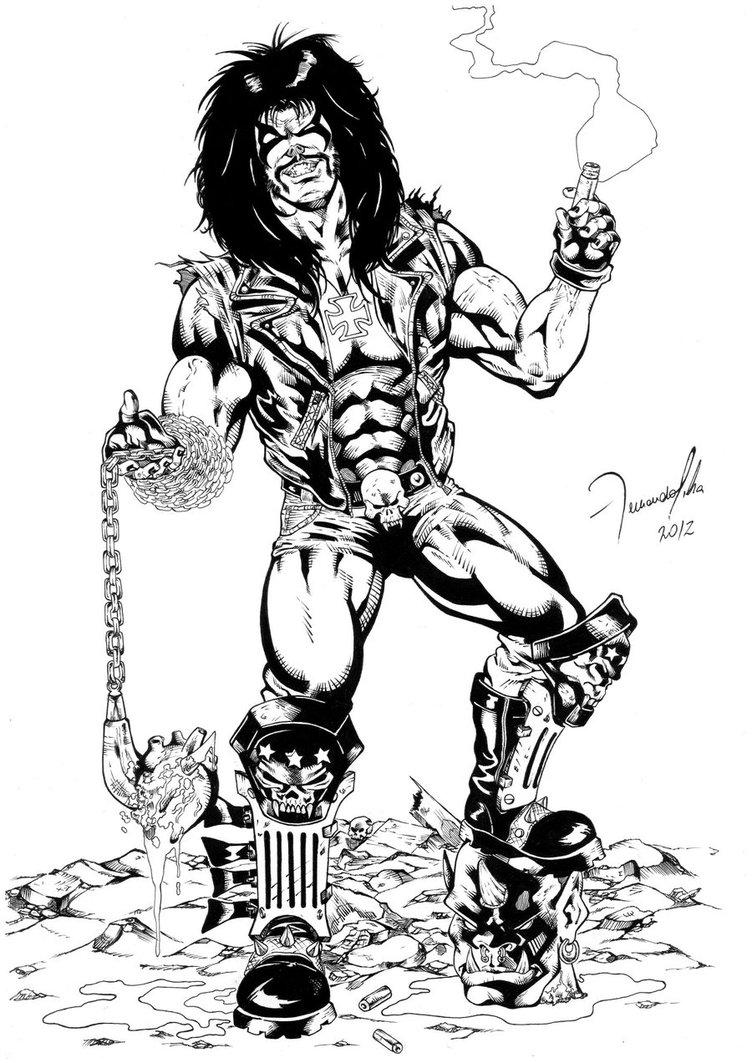 Lobo DC Comics by fernandosilva1406 752x1063