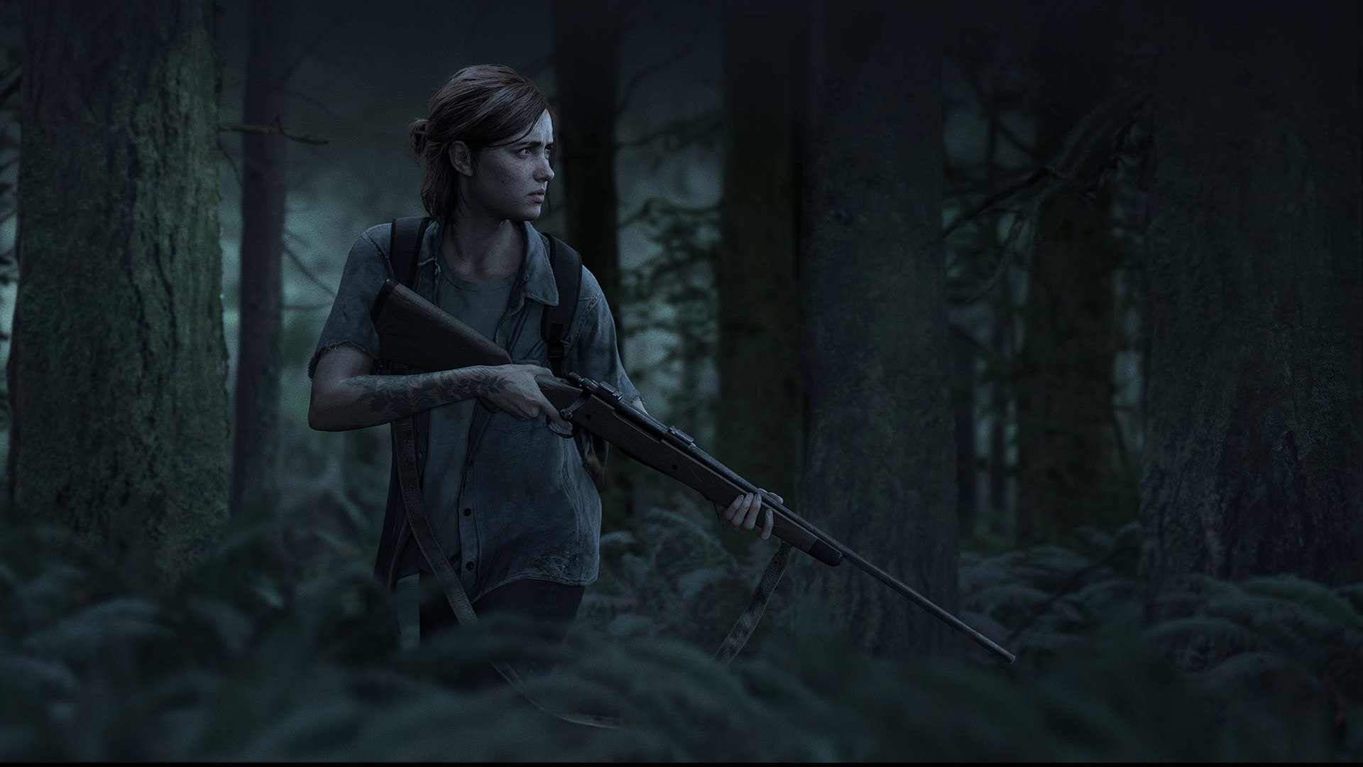 1920x1080] The Last of Us 2 Ellie Wallpaper PSW 1920x1080