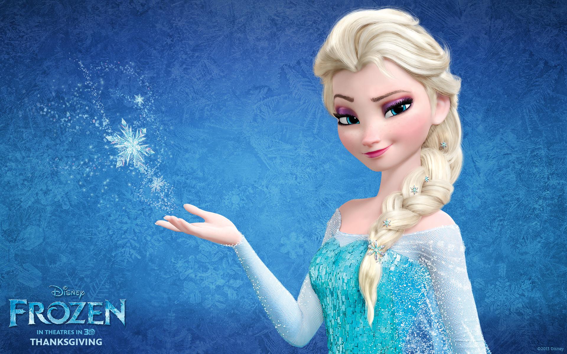 Snow Queen Elsa in Frozen Wallpapers HD Wallpapers 1920x1200