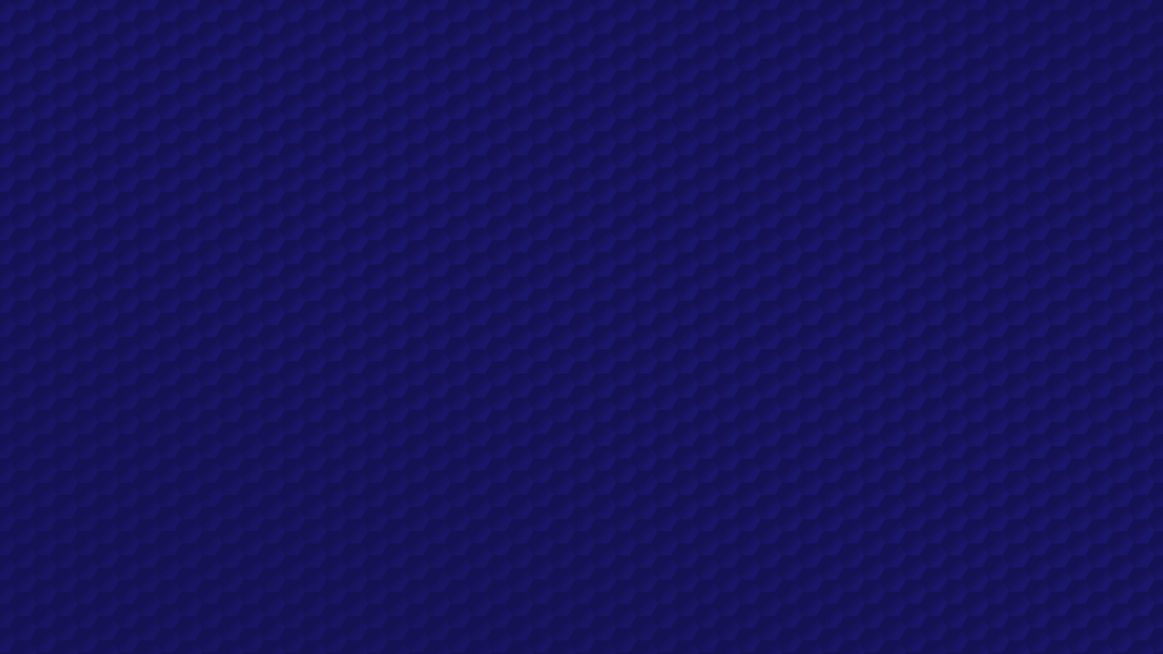 Dark Blue Honeycomb Pattern 4K Wallpapers 3840x2160