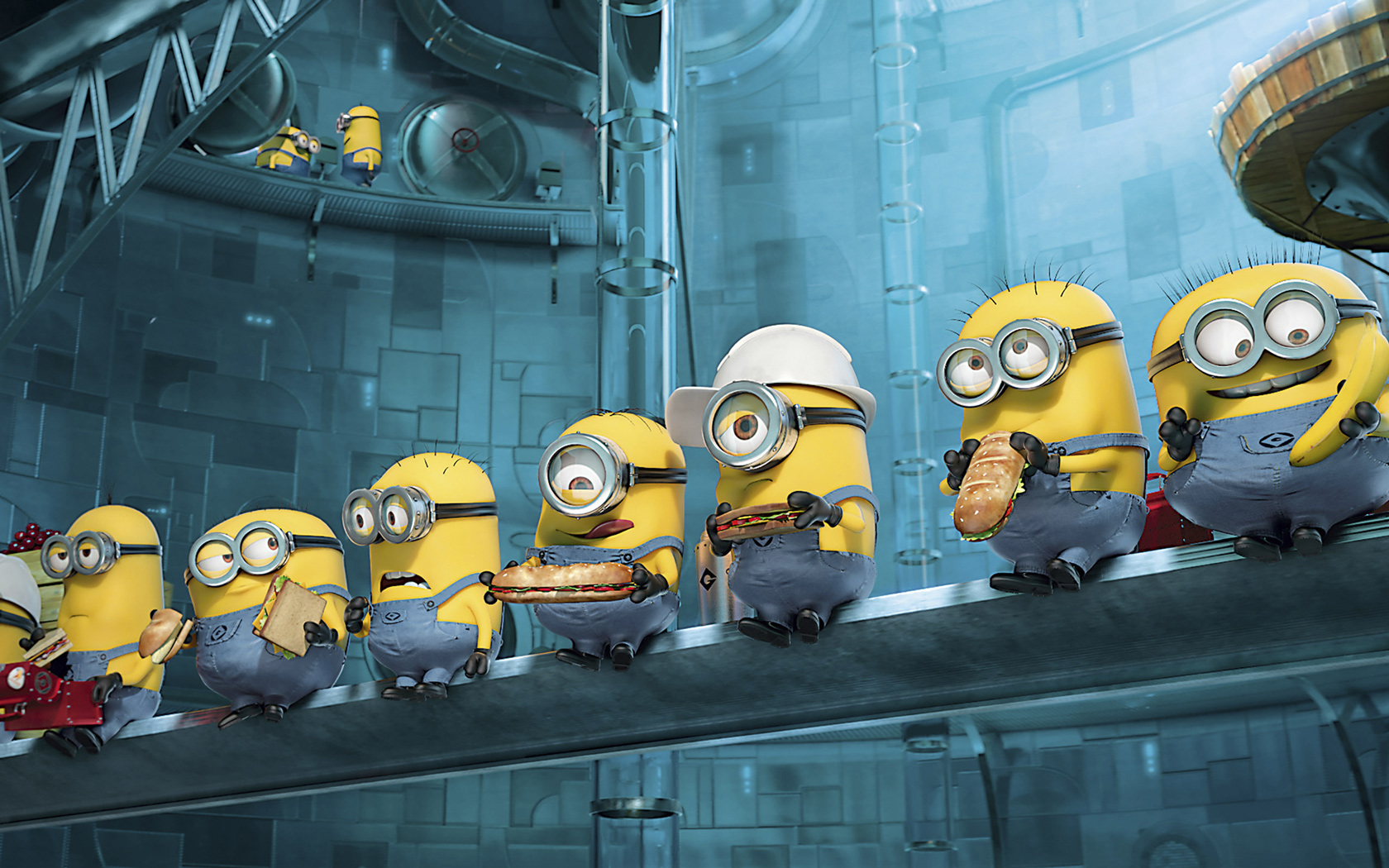 Wallpapers Minion Funny Backgrounds Of Minions Funnyminions 1680x1050