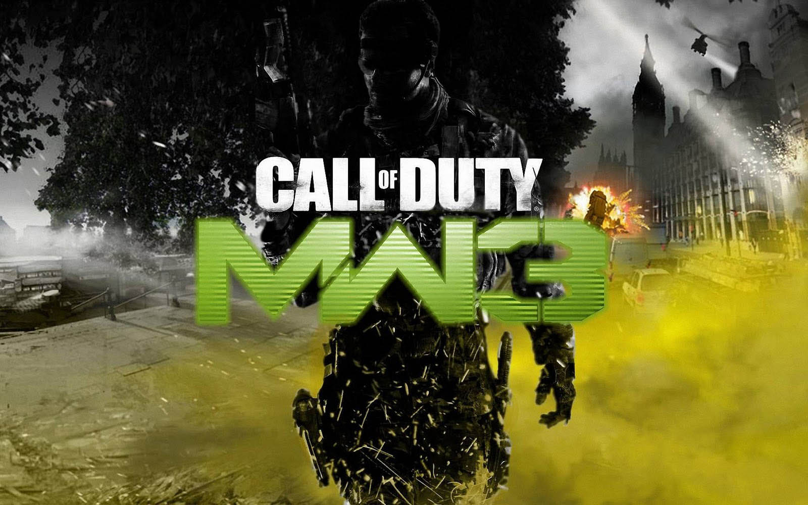 Tag Call Of Duty Modern Warfare 3 Game Wallpapers Backgrounds 1600x1000