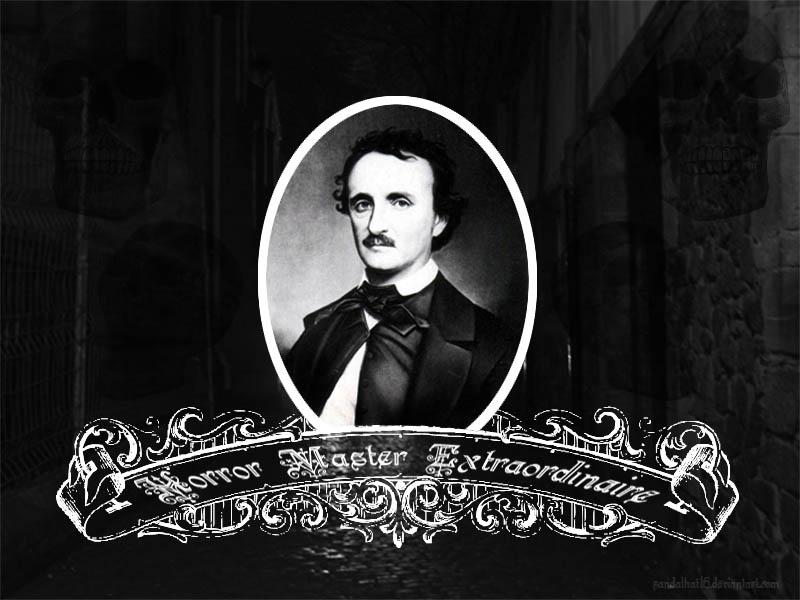 Edgar Allen Poe Wallpaper by sandalhat16 800x600
