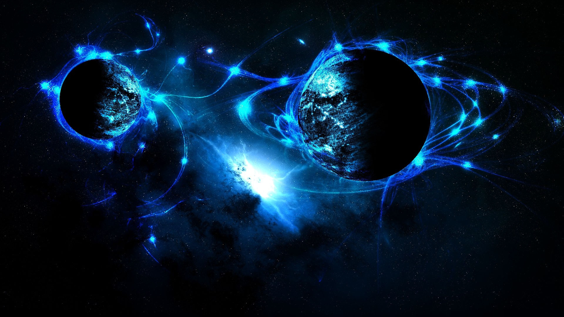 Sci fi outer space planets stars wallpaper 1920x1080 38861 1920x1080