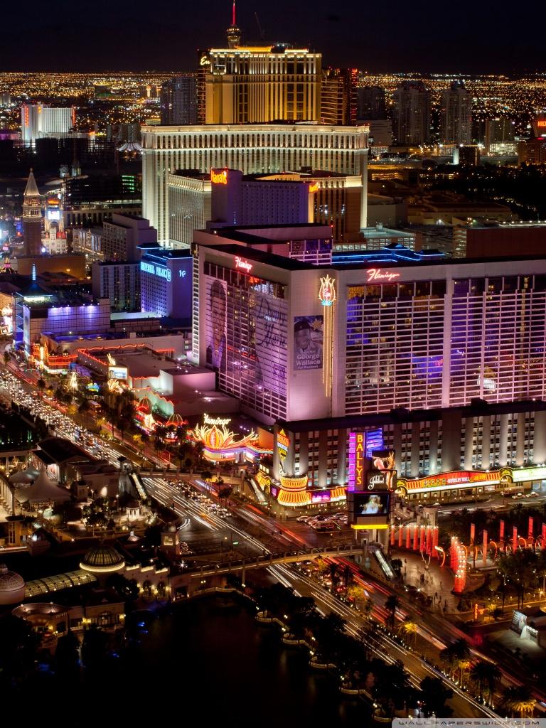Las Vegas Strip Ultra HD Desktop Background Wallpaper for 4K UHD 768x1024