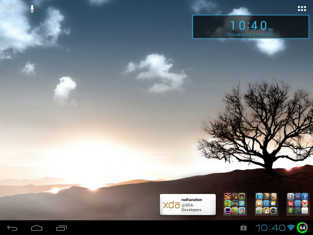 Asus live wallpaper HP TouchPad XDA Forums 1024x768