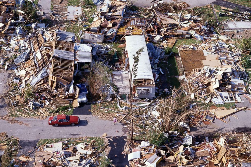 Hurricane Andrew 25 years later The monster storm that devastated 992x660