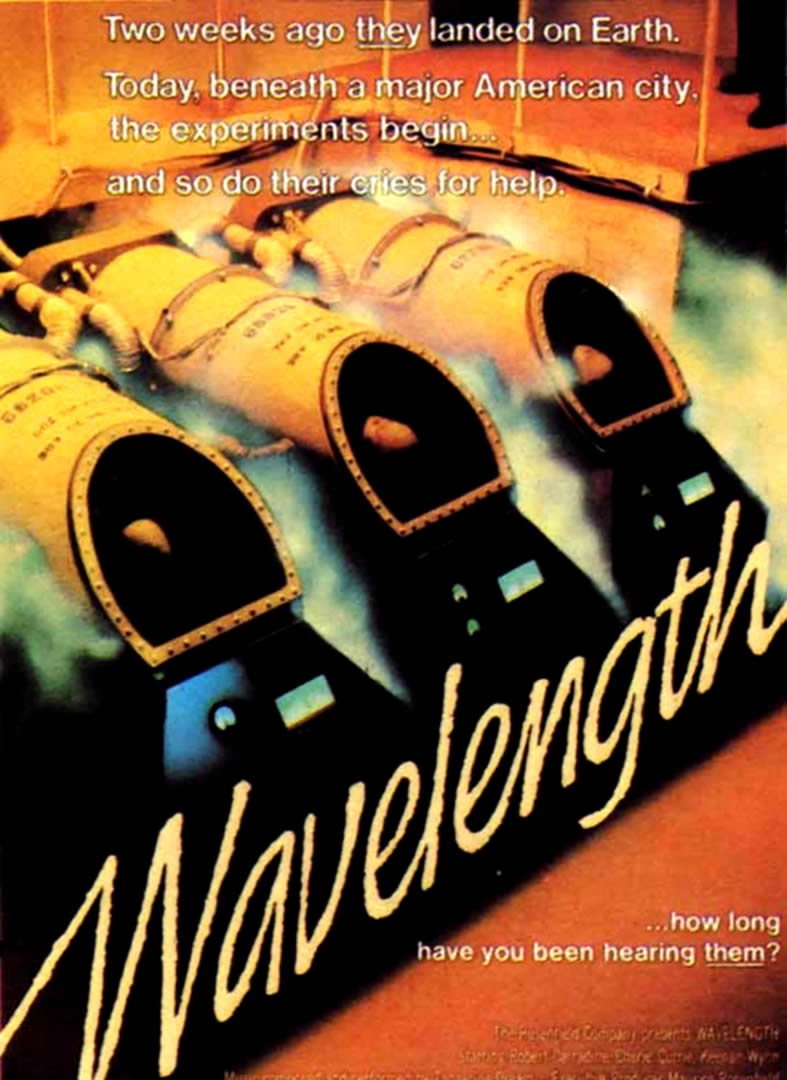 WAVELENGTH   Alien Invasion B Movie Posters 787x1080
