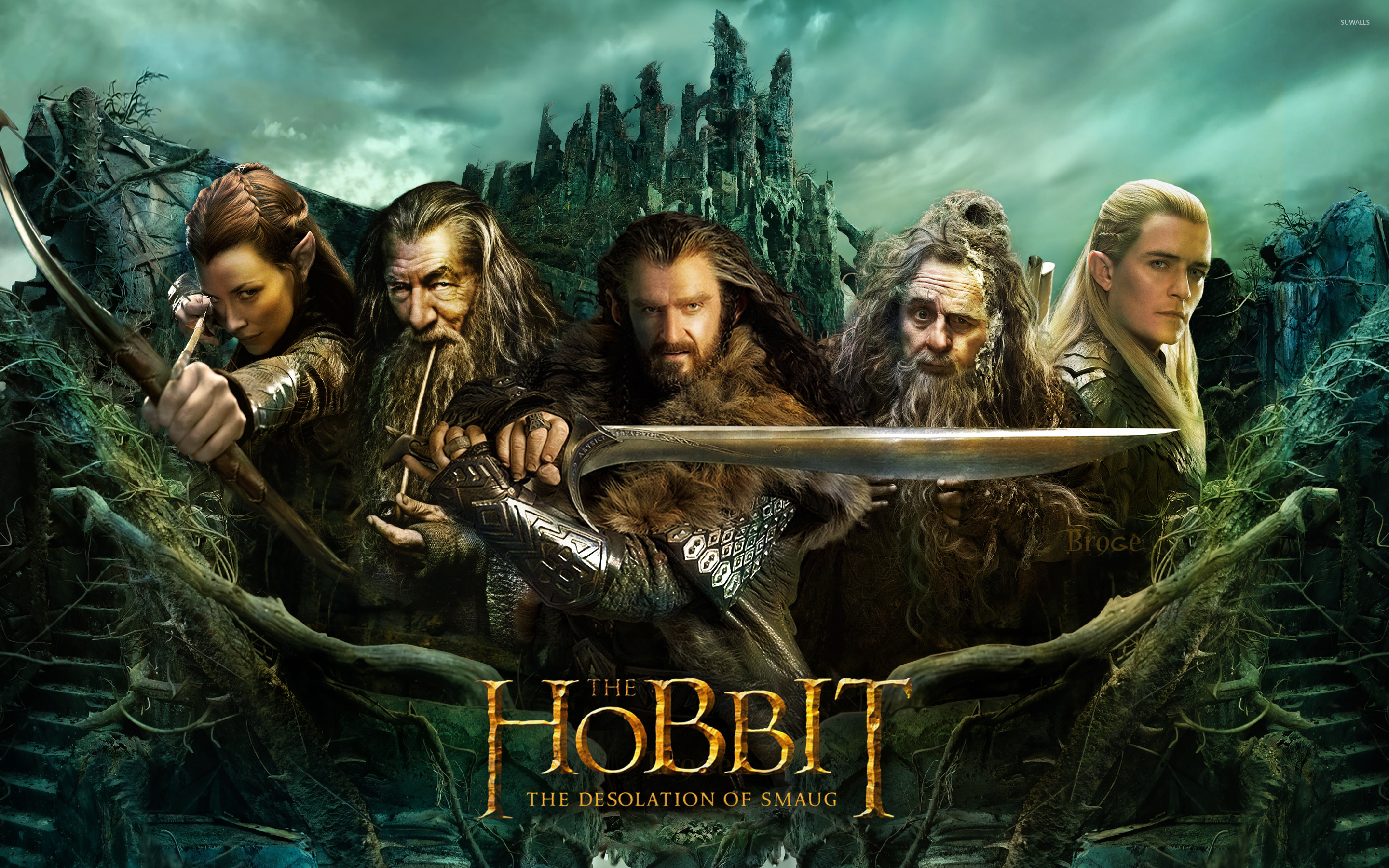 The Hobbit The Desolation of Smaug [2] wallpaper   Movie 2880x1800