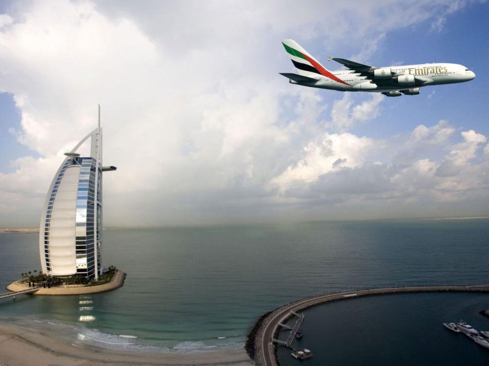 Emirates Dubai Burj Al Arab wallpaper travel and world 970x727