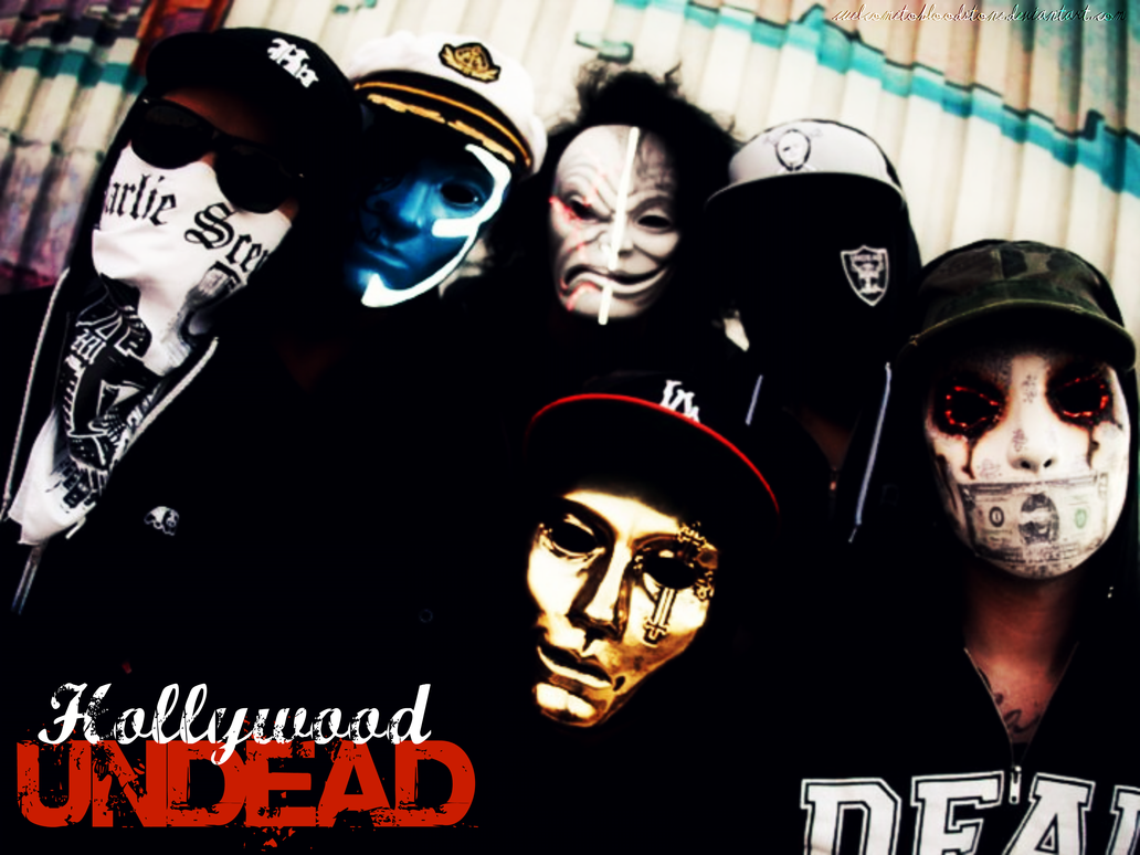Hollywood Undead wallpaper ALL ABOUT MUSIC 1032x774