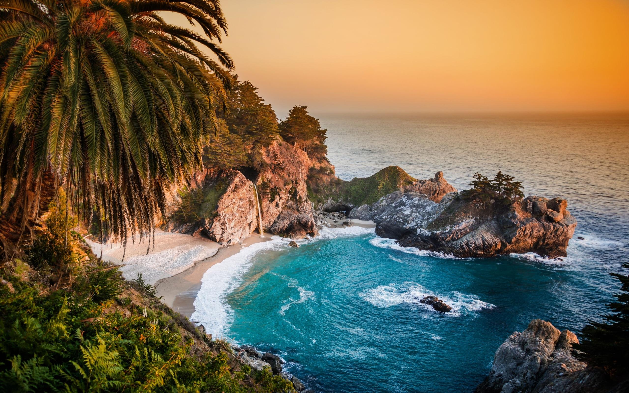 California Pacific Ocean 4K Ultra HD wallpaper 4k WallpaperNet 2560x1600