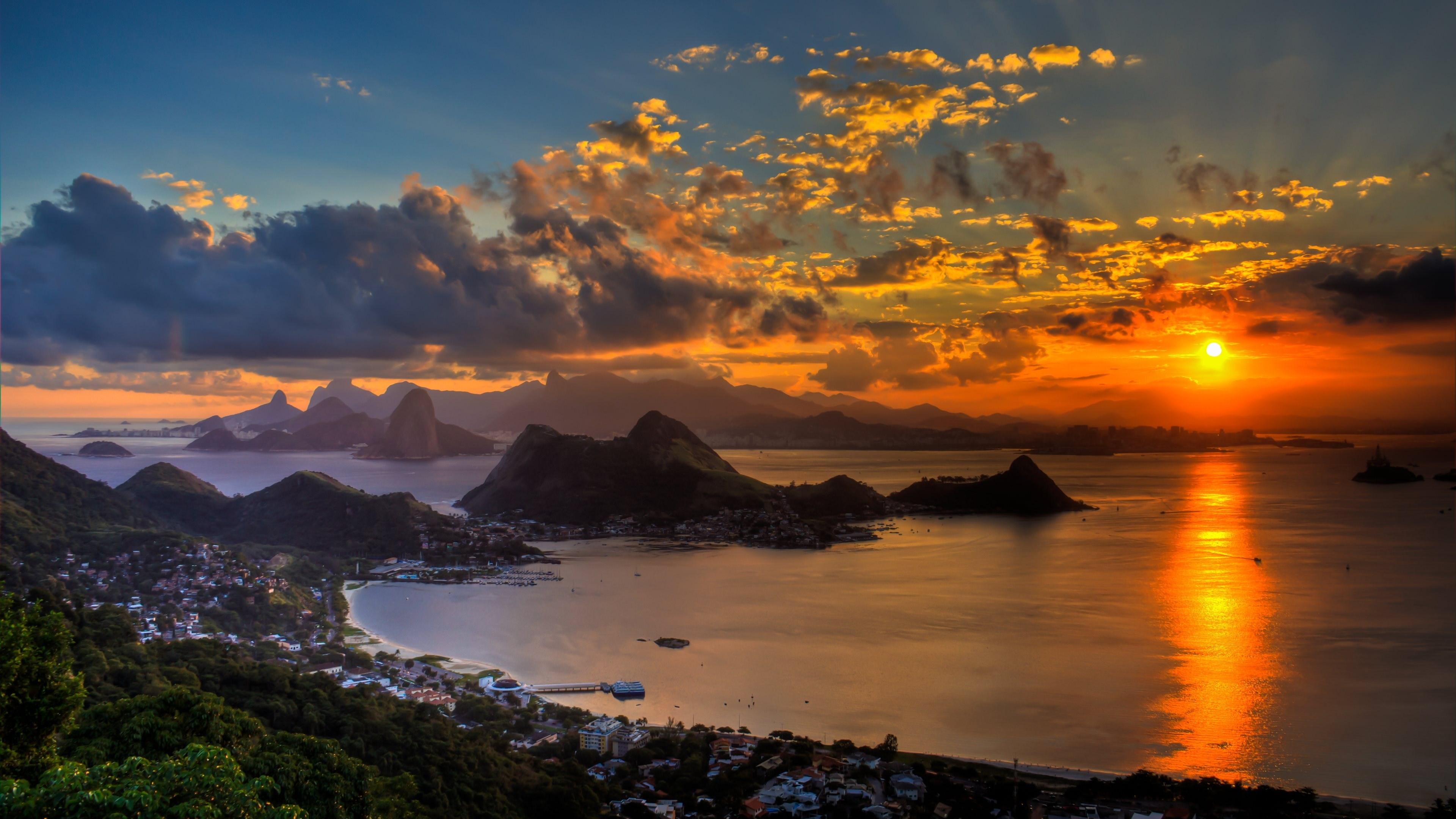 Fonds dcran Rio De Janeiro tous les wallpapers Rio De Janeiro 3840x2160