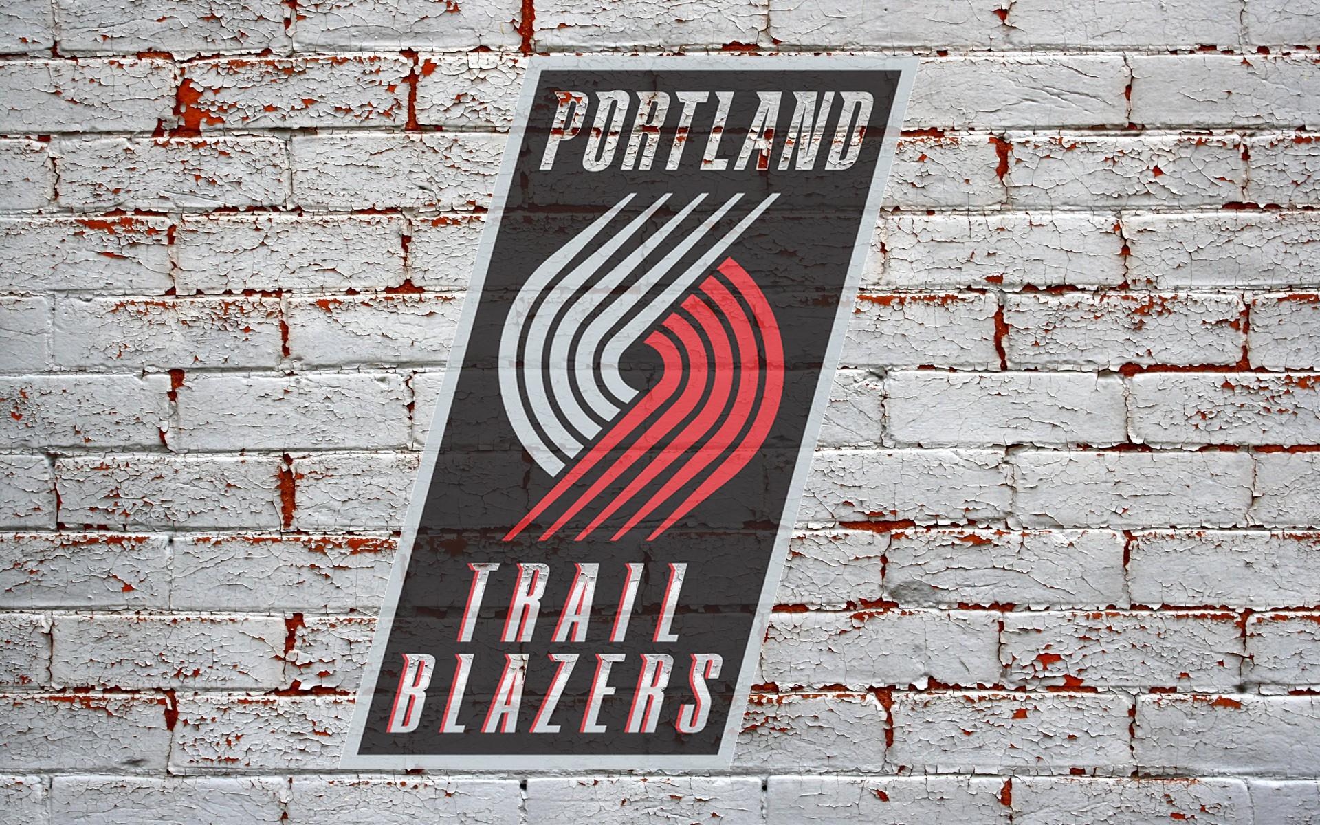 Portland Trail Blazers Logo wallpaper   897229 1920x1200