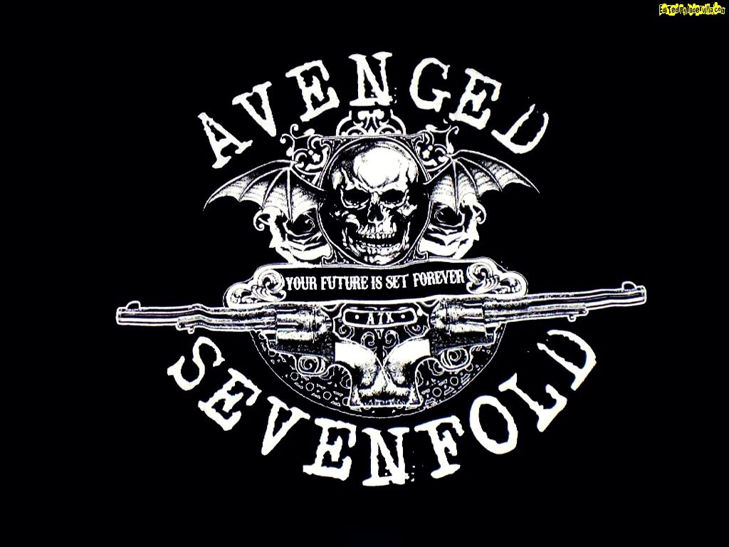 Avenged Sevenfold logo HD Wallpapers   Download Here TechBeasts 1024x768