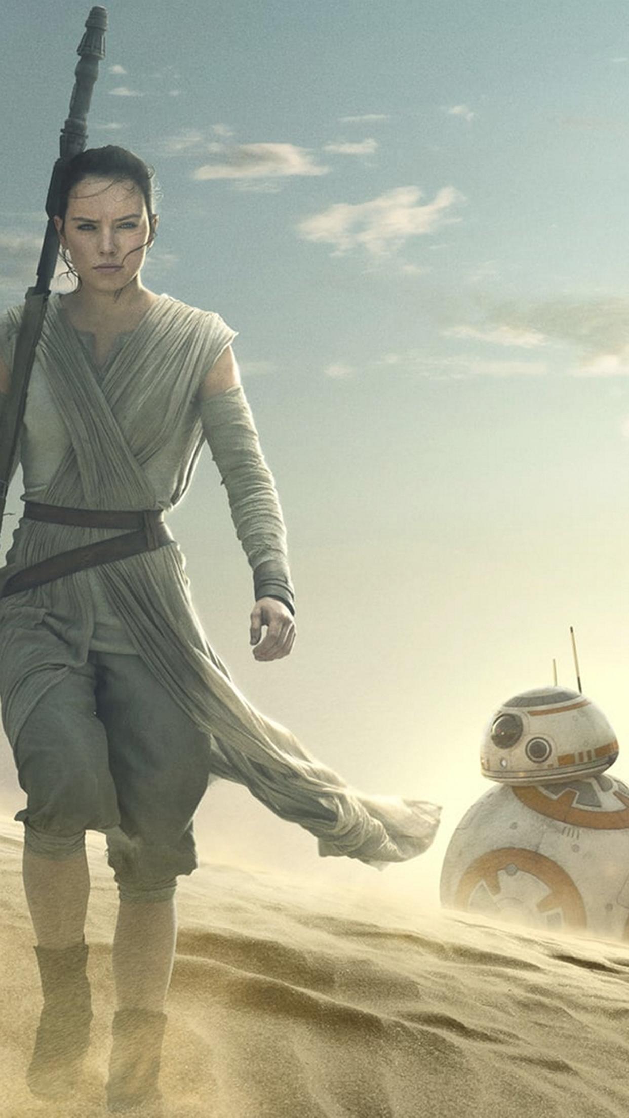 No dudes en decirnos cul de estos wallpapers de Star Wars The Force 1242x2208