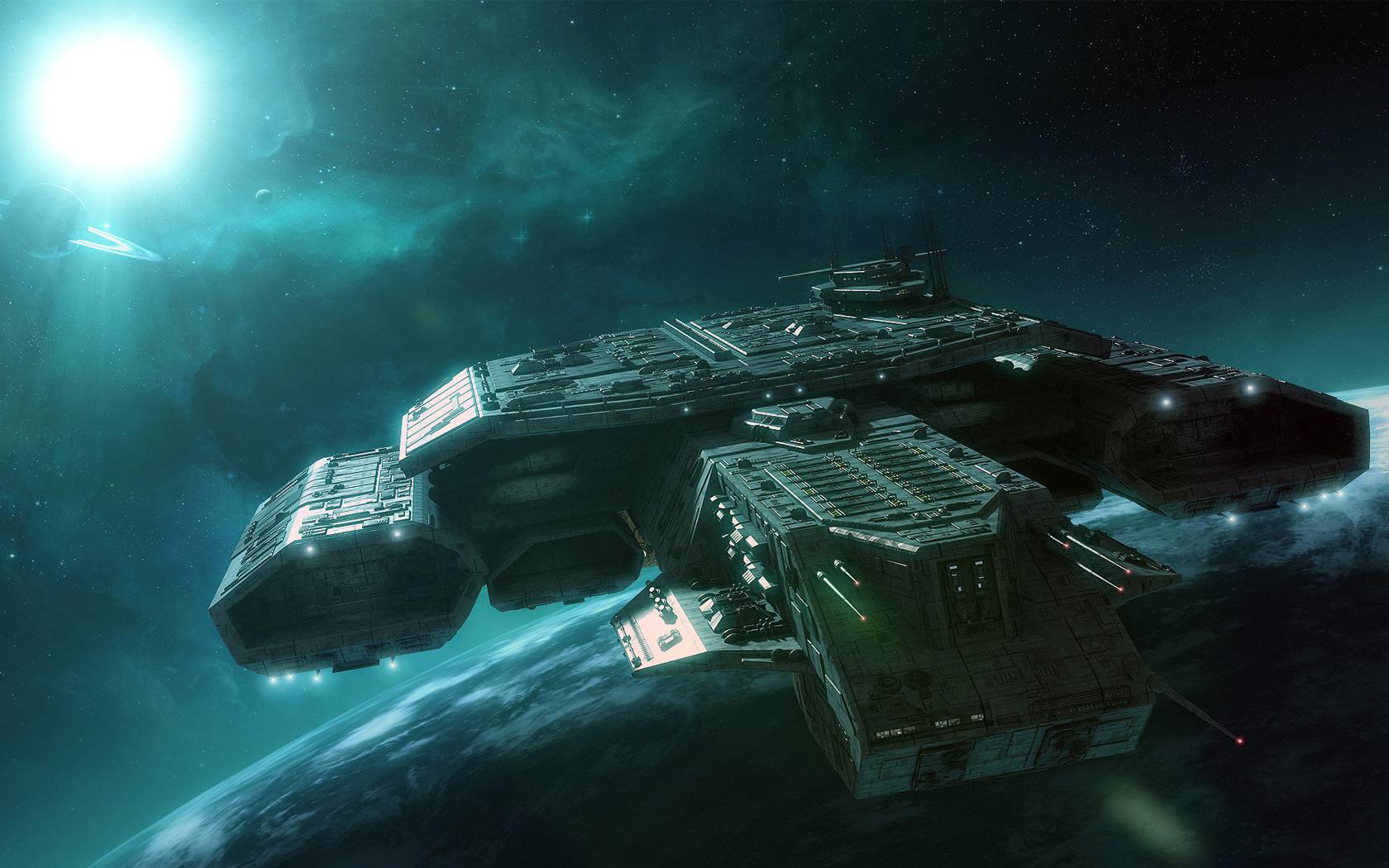 Download Stargate Spaceships Wallpaper 1680x1050 1680x1050