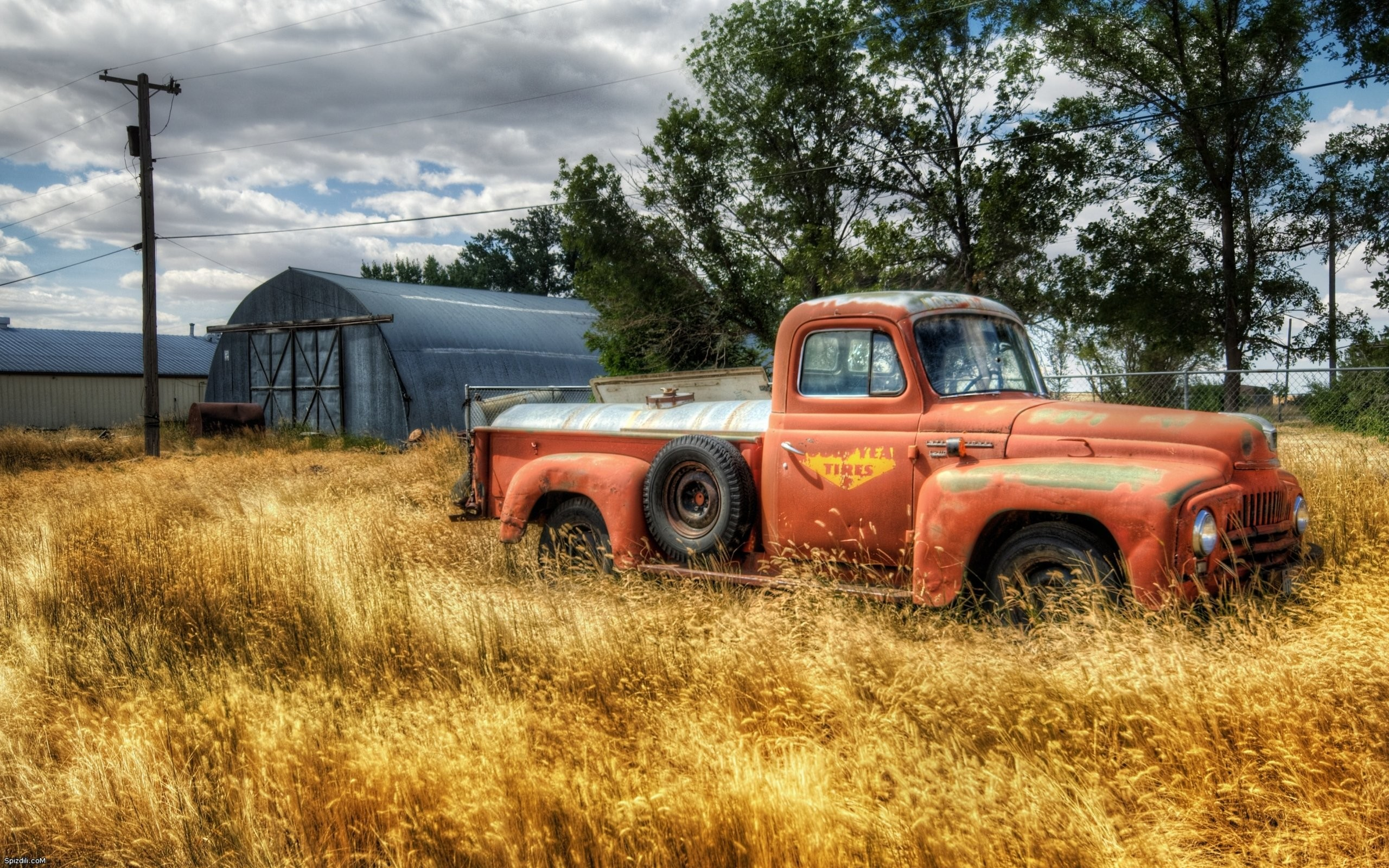 Trucks rust vehicles hdr photography classic cars wallpaper background 2560x1600