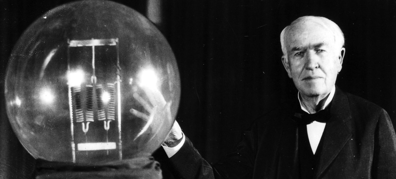 Celebrities Thomas Edison 1369x619px 100 Quality HD Wallpapers 1369x619
