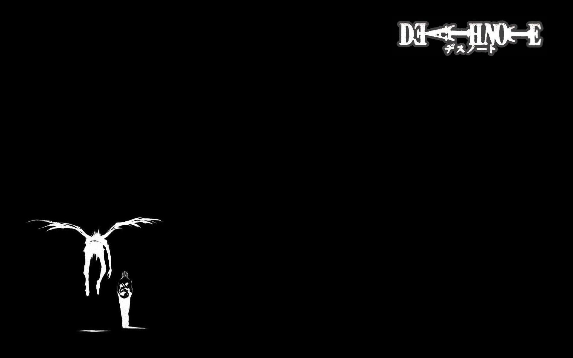 Death note iphone wallpaper tumblr - Death Note Light Wings Ryuk Yagami Light Simple Background Wallpaper