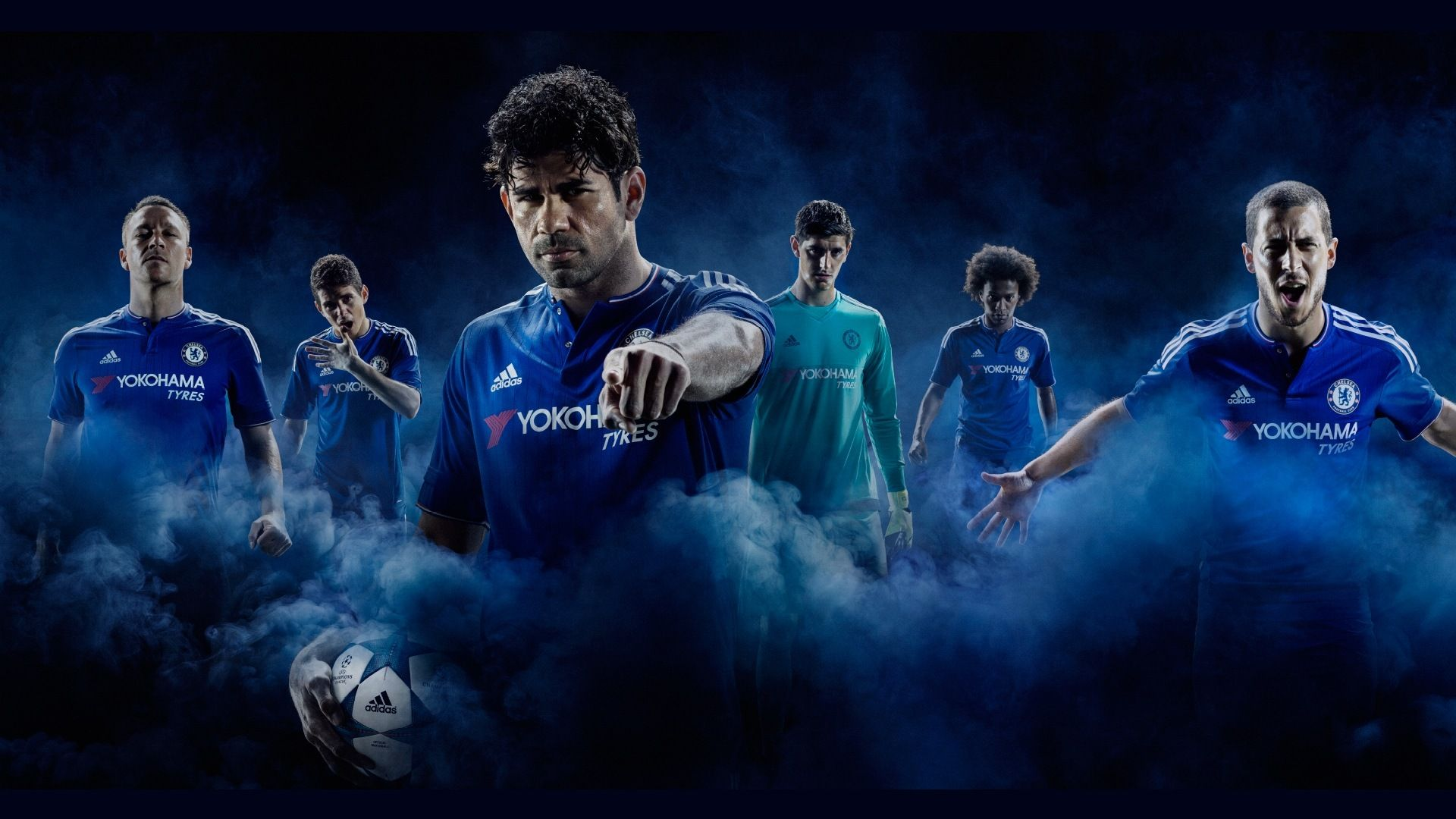 Chelsea FC HD Background Picture Image 1920x1080