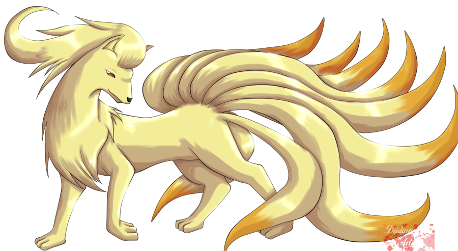 Pokemon Ninetails Wallpaper - WallpaperSafari