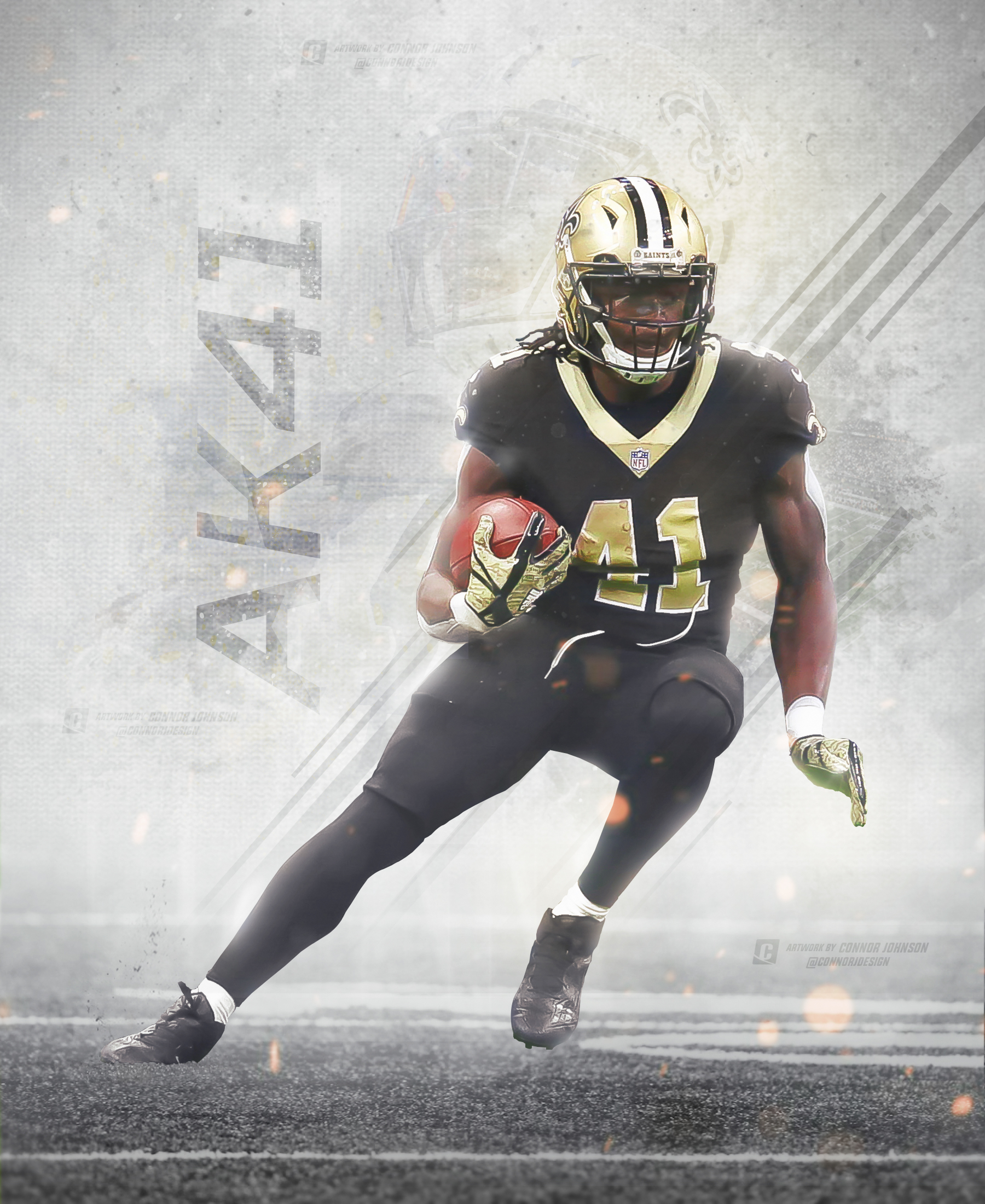 11 Alvin Kamara Wallpapers On Wallpapersafari