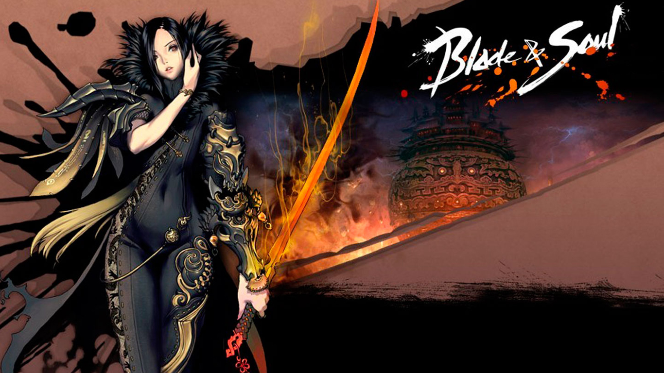 varel jin sexy blade and soul anime girls hd 1366x768 wallpaper and 1366x768