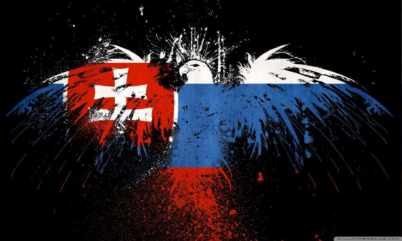 Grunge Flag Of Slovakia 4K HD Desktop Wallpaper for 4K Ultra HD 1280x768