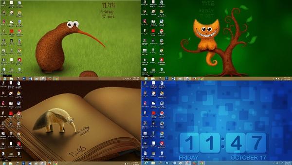Wallpaper Clocks for Windows 8 7 600x339