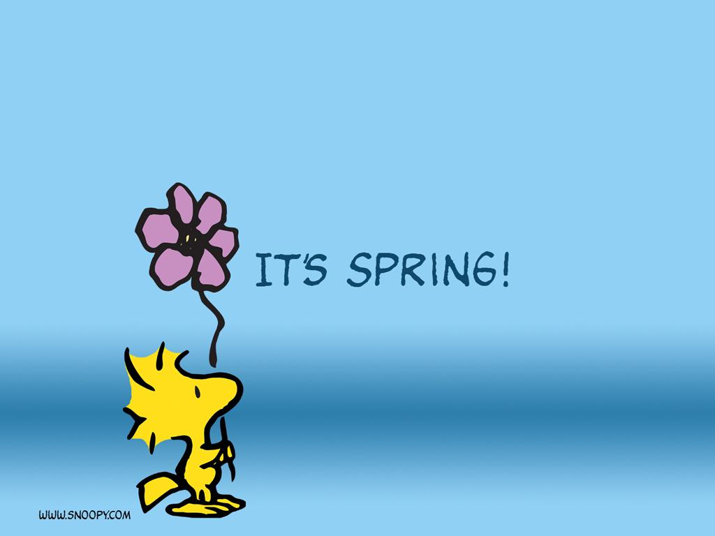 50 Free Snoopy Spring Wallpaper On Wallpapersafari