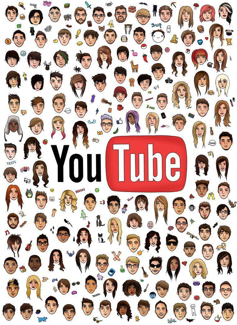 YouTubers Logos Wallpapers   Top YouTubers Logos Backgrounds 762x1048