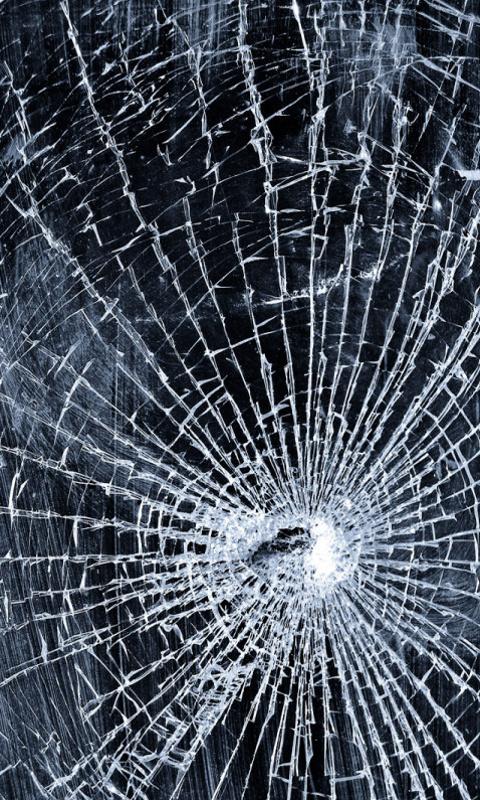 Broken phone screen wallpaper wallpapersafari - Mobile screen crack wallpaper ...