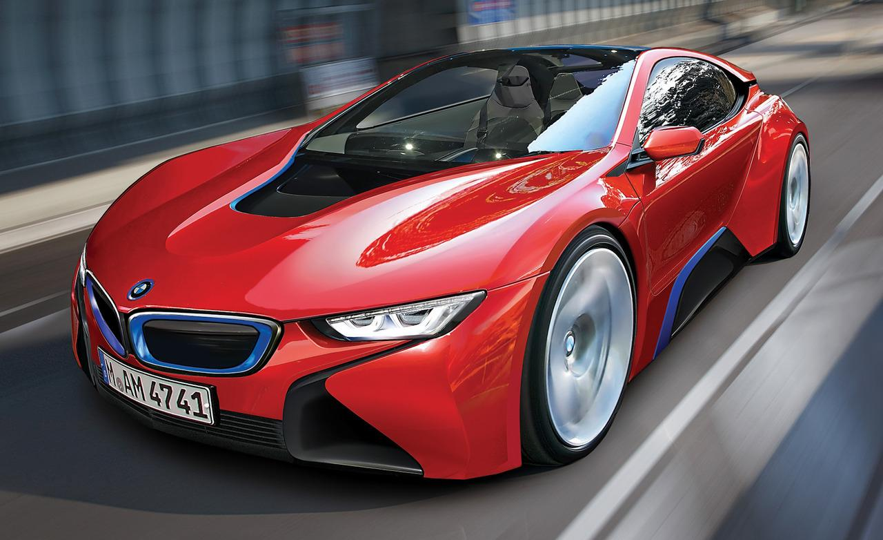 Sports Cars BMW I8 Concept 1280x782