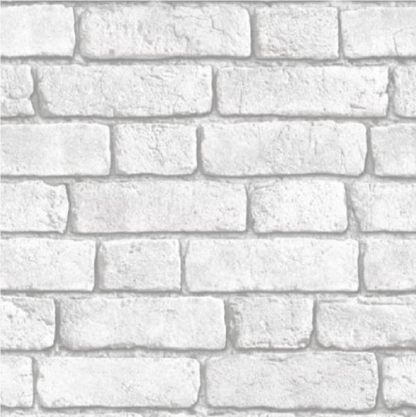 MURIVA BLUFF BRICK WALL EFFECT RED WHITE EMBOSSED VINYL 10M WALLPAPER 600x601