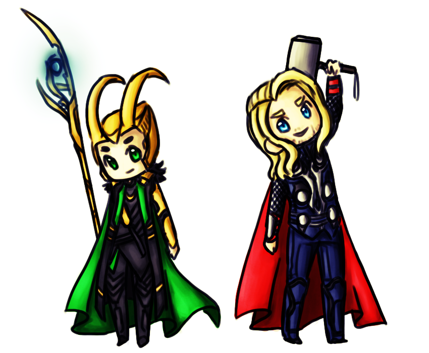 Chibi Loki And Thor Wallpaper Images Pictures   Becuo 850x700