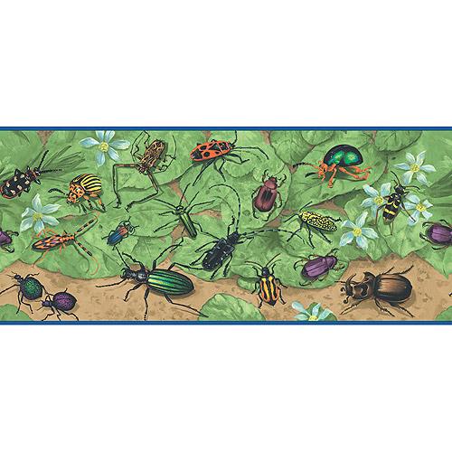 Blue Mountain Insect Wallpaper Border   Walmartcom 500x500