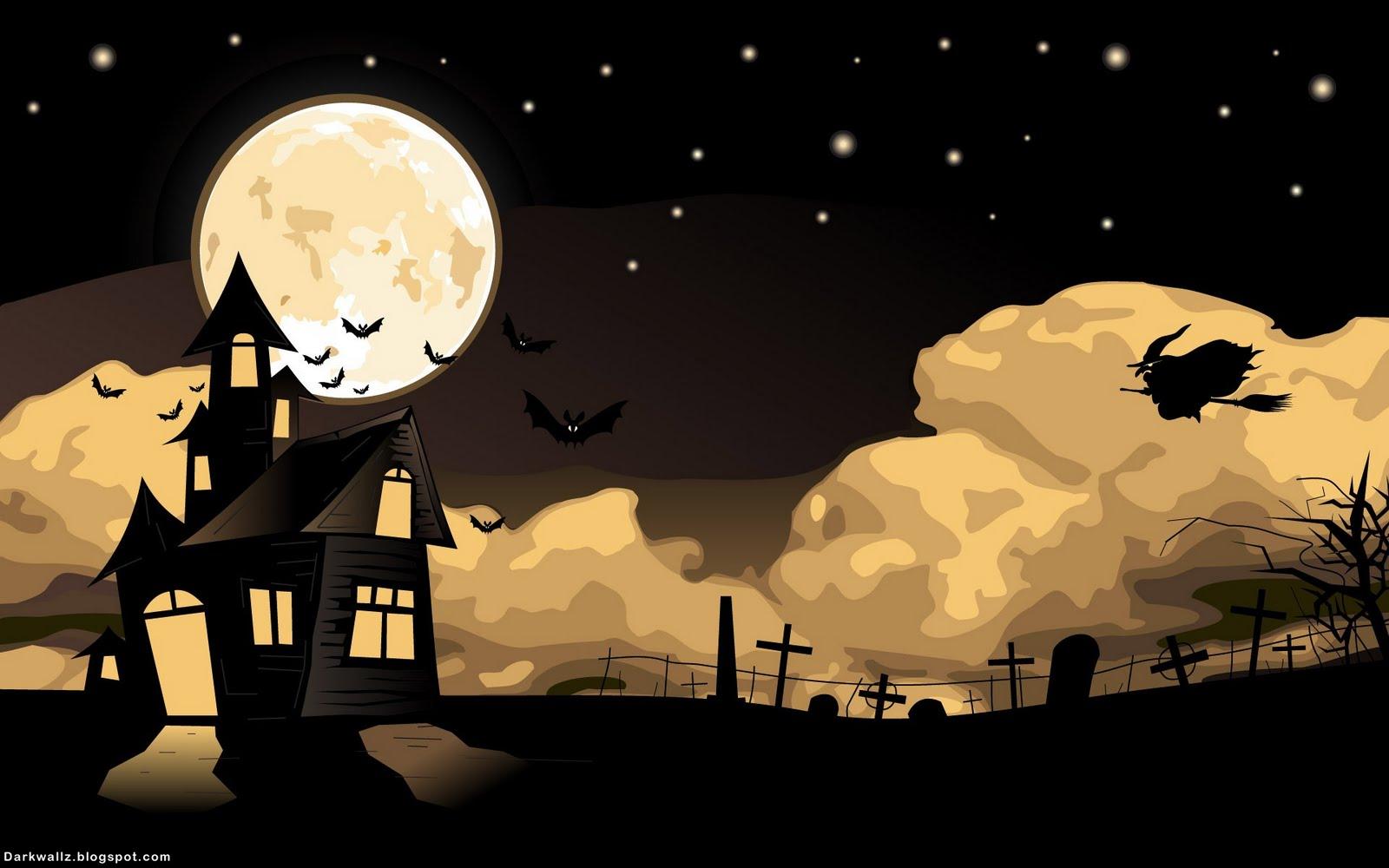 Halloween Wallpapers 32 dark halloween wallpaper 1600x1000