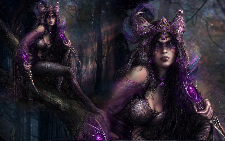 Fantasy   Witch Wallpaper 1332x834