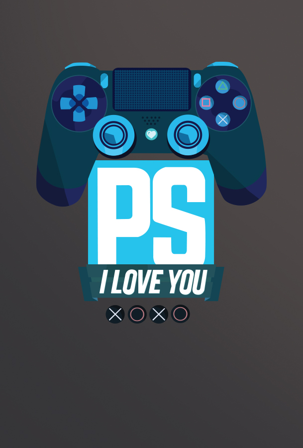 Kinda Funny PS I Love You hi res logo wallpaper kindafunny 609x900