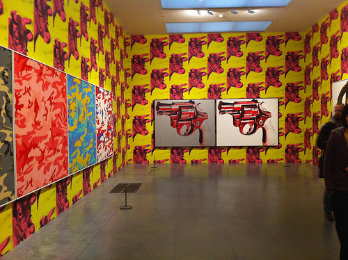 tate modern andy warhol cow wallpaper Flickr   Photo Sharing 500x374
